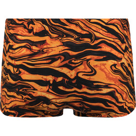 TYR Miramar Allover Boxer de bain Homme, black/orange